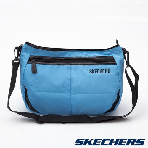 [陽光樂活]SKECHERS 背包系列 CIAO 小側背包 - S18139 藍
