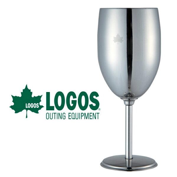 【LOGOS日本】不鏽鋼紅酒杯不鏽鋼杯-附袋(LG81285112)