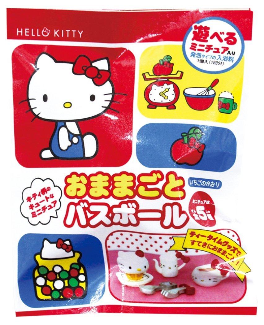 X射線【C286387】Hello Kitty 沐浴球,泡澡/沐浴球/入浴劑/溫泉粉/泡澡球/入浴球/玩具/洗澡球