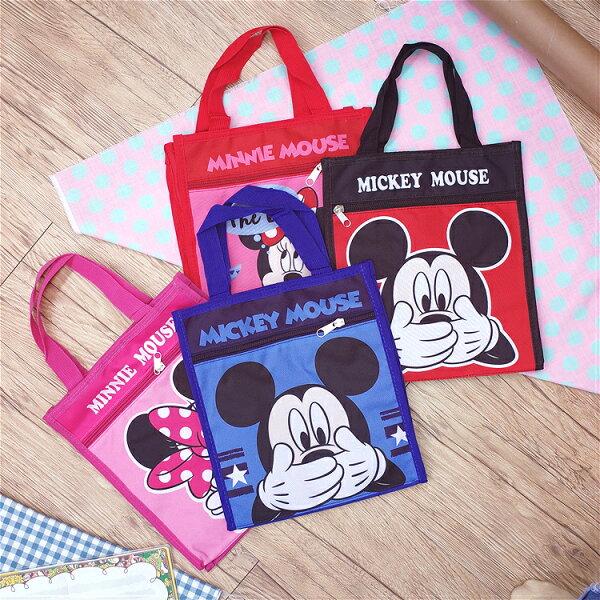 PGS7迪士尼系列商品-迪士尼米奇米妮輕便小提袋會計袋Mickey【SI2D71007】