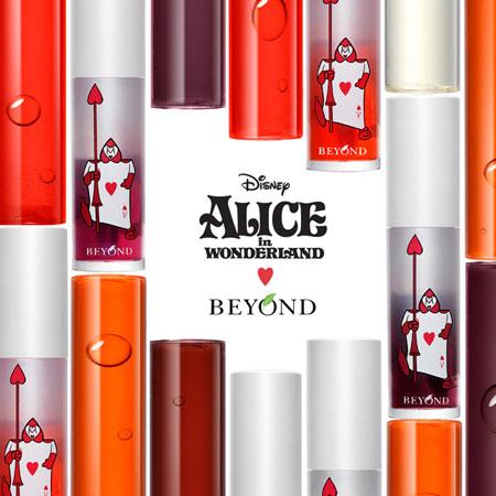 韓國 BEYOND x ALICE 愛麗絲 勇闖魔境亮澤染唇液 4.5g 唇蜜 唇露 迪士