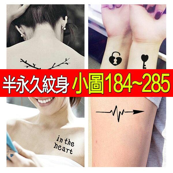 刺青貼紙(184-286)小圖-紋身模板【PG04】☆雙兒網☆