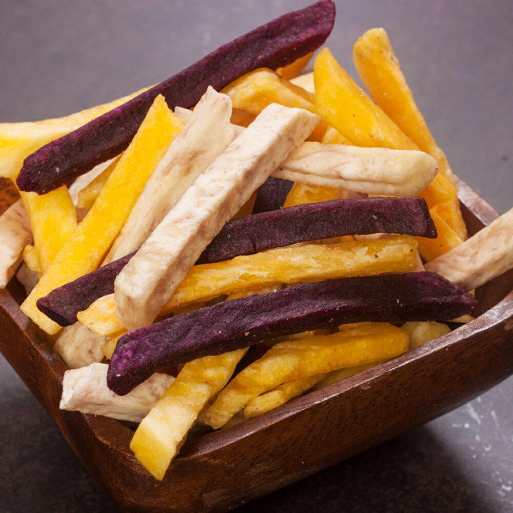 三色薯條脆片 / 薯條三兄弟 / 台灣蔬果脆片 / 1包(150g / 包) 1