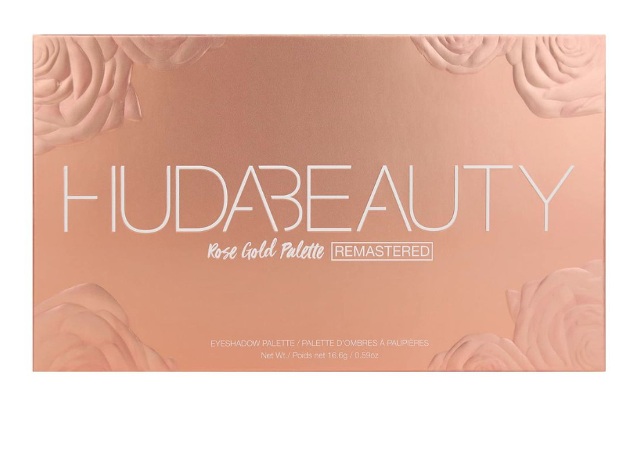 HUDA BEAUTY玫瑰金眼影盤 Rose Gold Remastered Palette 5
