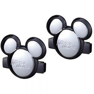權世界~汽車用品  NAPOLEX Disney 米奇安全帶固定扣夾  2入  WD~23