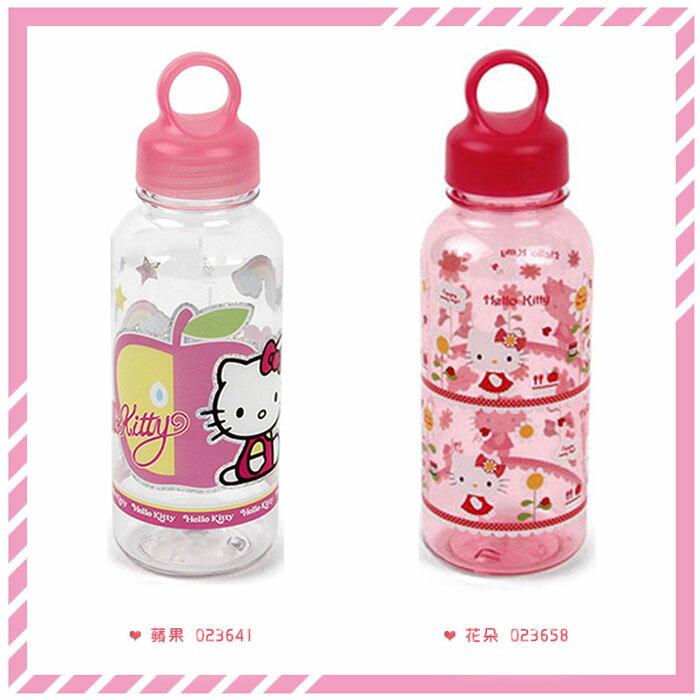 Sanrio 三麗鷗 凱蒂貓 HELLOKITTY 樂扣 LOCK 水壺 350ml 韓國進口正版