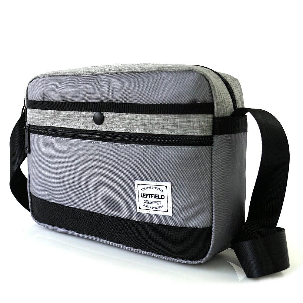 側背包 時尚拼接防水前口袋斜背包包 NEW STAR BL135 1