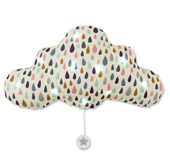 TOI-MÊME法式雲朵音樂夜燈(點點雨滴)