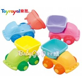 *babygo*樂雅 Toyroyal Mini Flex系列 洗澡沙灘玩具-沙灘車2160(隨機出貨)