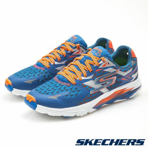 【SKECHERS 促銷6折│全店免運】SKECHERS(男) GORun Ride 5 跑步系列 - 53997BLOR