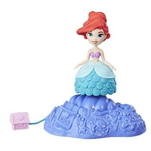 《Disney迪士尼》迷你公主轉轉樂園人物-小美人魚