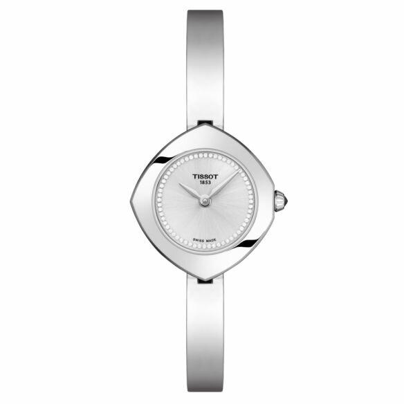 TISSOT天梭T1131091103600Femini-T系列清秀佳人時尚腕錶銀24.8mm