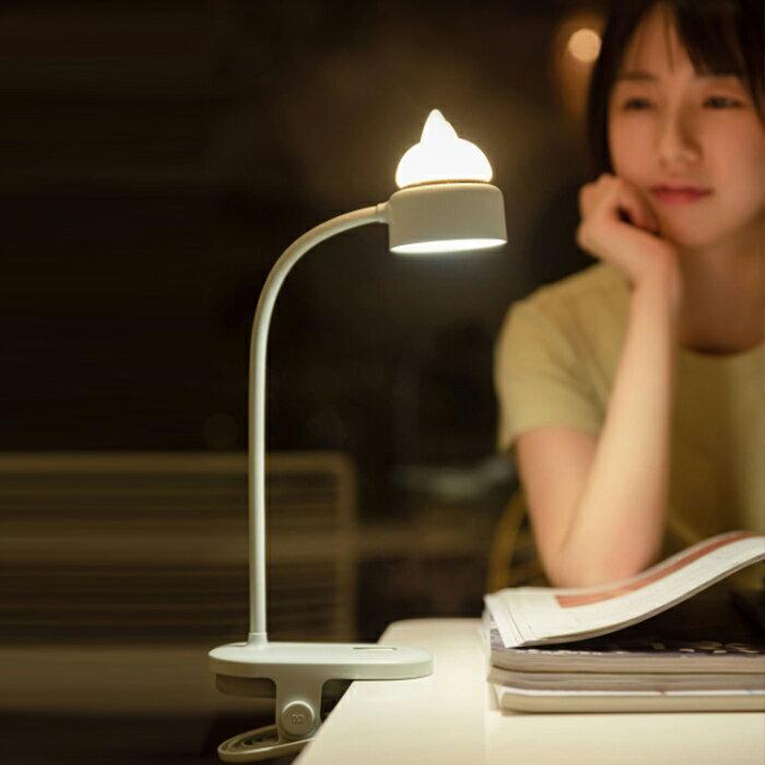 【禮品世界】檯燈、夜燈雙用燈夾(TL-01) / 檯燈 / 夜燈 / 燈夾夜燈 / 燈夾檯燈
