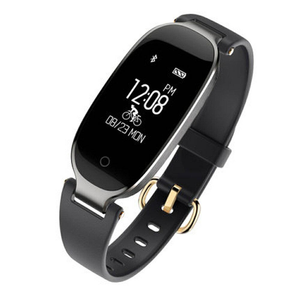 智慧手環女款測多功能藍芽計步器手環安卓防水運動手錶   全館八五折