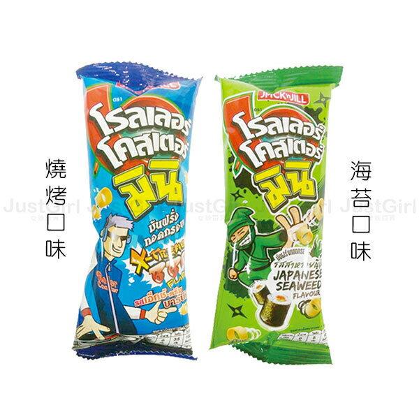 泰國 JACK n JILL 迷你洋芋圈 手指餅乾 燒烤 海苔 14g 食品 泰國製造進口 JustGirl