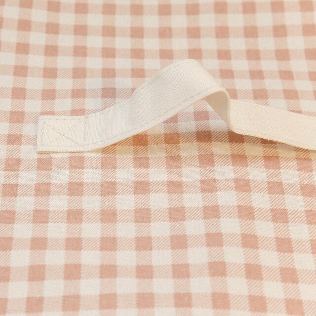 粉蘇格蘭衣物收納 50cmx45cmx25cm 可收納雜物 小物 4