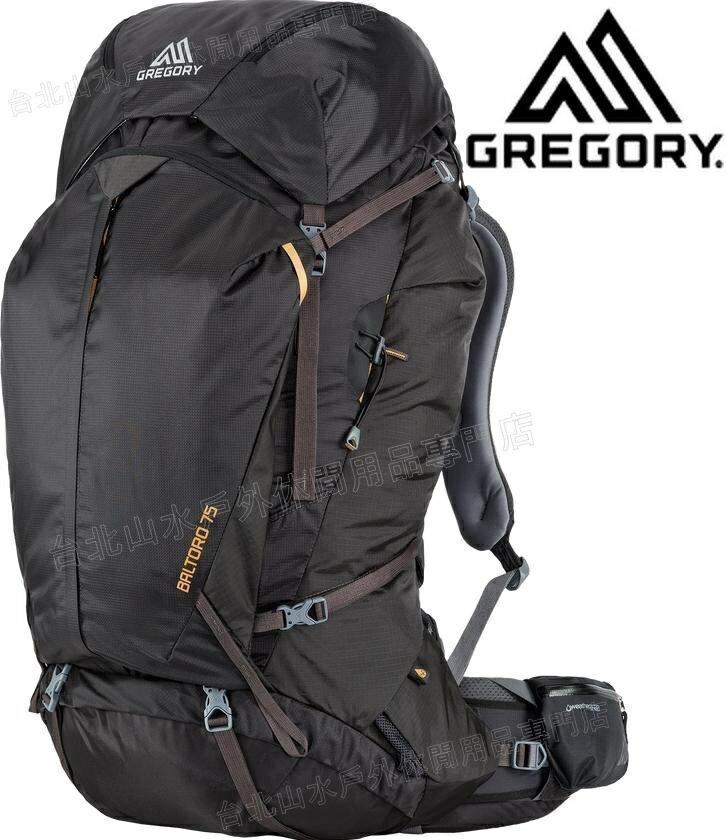 Gregory 後背包/登山背包/背包客/背包/健行 Baltoro 75 專業登山包 65780/65781 0614陰影黑