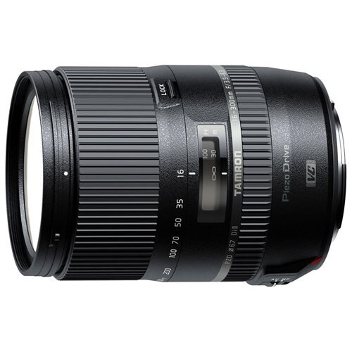 "Tamron B016 - 16 mm to 300 mm - f/3.5 - 6.3 - Macro Lens - 67 mm Attachment - 18.6x Optical Zoom - Optical IS - PZD - 3""Diameter 0"