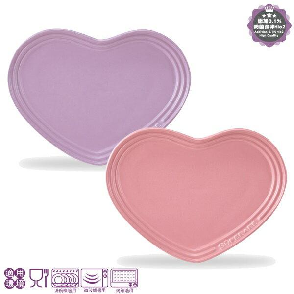 【小資屋】義大利 Superare 復刻回憶心型鑄瓷盤 (粉紅色 SMP-H09)
