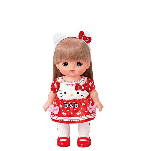 《 日本小美樂 》小美樂配件 -- Helolo Kitty 小洋裝