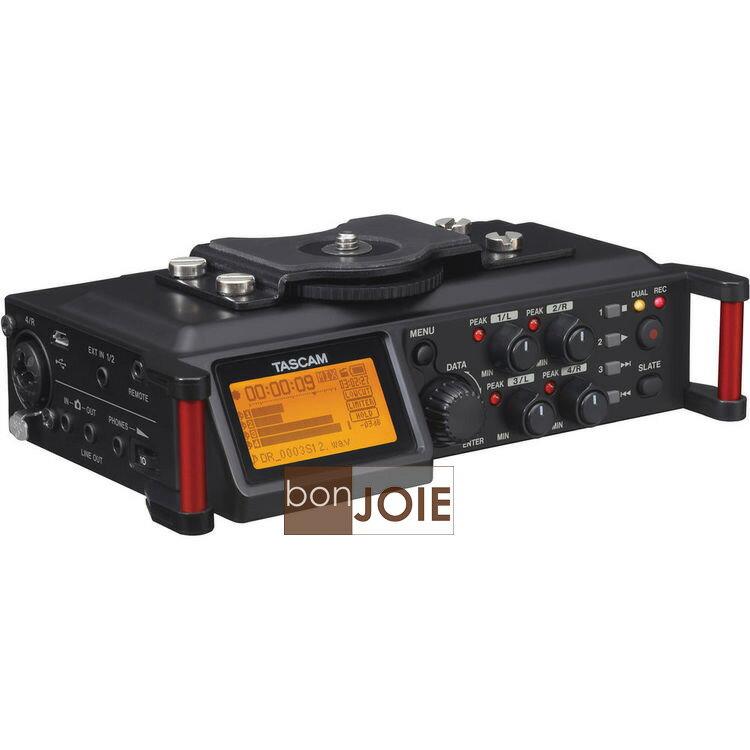 ::bonJOIE:: 美國進口 TASCAM DR-70D 高音質數位錄音機 (全新盒裝) 相攝影 微電影 錄音器 DSLR PCM