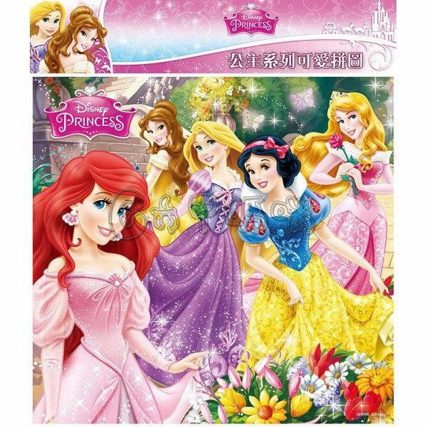 迪士尼公主系列可愛拼圖/K【六甲媽咪】