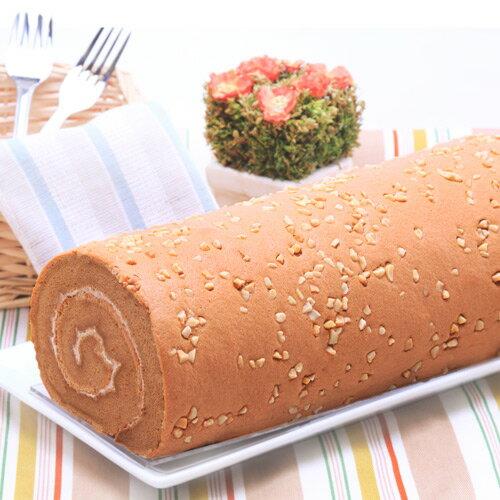【香帥蛋糕】招牌特推單品-杏仁咖啡卷