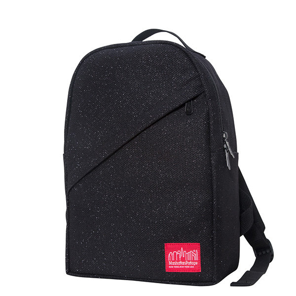 【EST】Manhattan Portage Midnight Hunters Backpack 星夜 斜口 後背包 黑 [MP-1905-MDZ-BLK] H1101