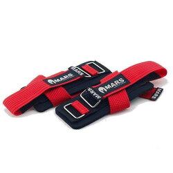 【H.Y SPORT】【MARS】紅色 L 專業拉力帶/重訓拉力帶/健身訓練輔助帶