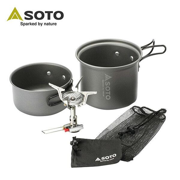 戶外 / 登山 / 露營 SOTO 攻頂登山爐組SOD-320CC - 限時優惠好康折扣