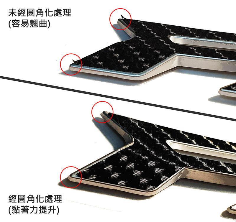 【LFM】SIREN 彪虎 地瓜 TIGRA 碳纖維紋 LOGO 貼紙套組 PGO 2