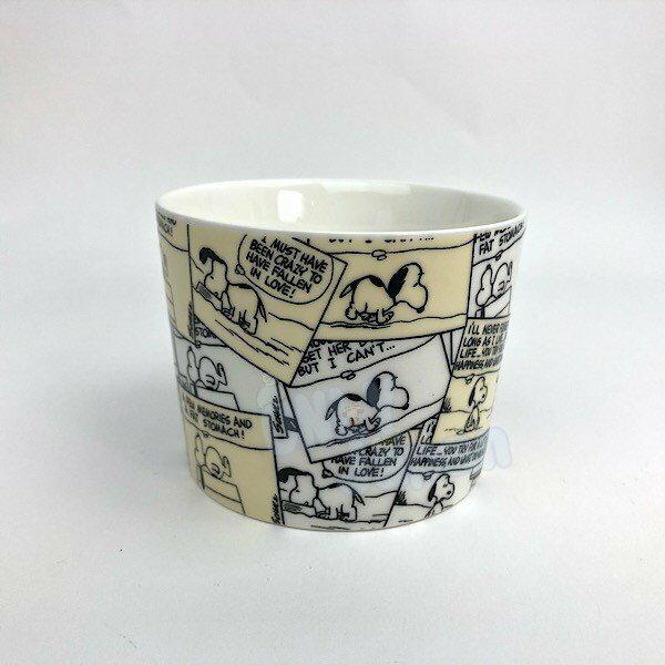 史努比snoopy 史奴比 馬克杯 水杯 杯子 單耳杯 杯子 交換禮物 4994209124260 陶瓷馬克杯-SN漫畫滿腹 真愛日本
