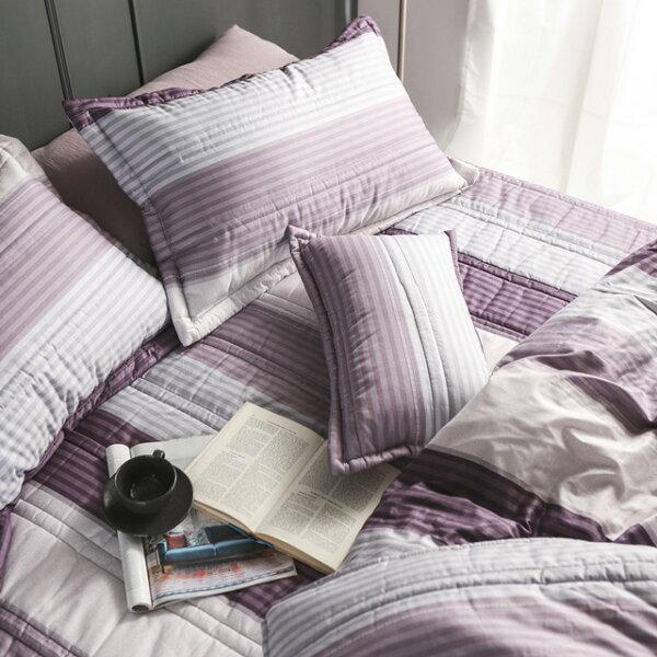 床罩組雙人加大【波普】五件式床罩組精梳棉,台灣製絲薇諾加碼送大型洗衣袋乙個