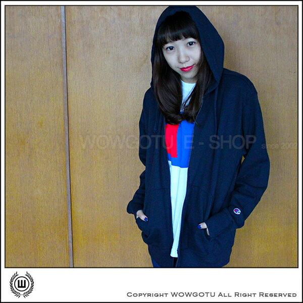 日本超人氣Champion熱賣中--長袖連帽外套刷毛版(四色)
