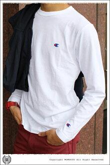 日本超人氣Champion熱賣中--素面長袖 T-SHIRT(4色)