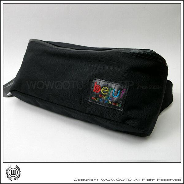 <br/><br/> 【 BERUF 】與眾不同.日本最激潮貨Easy Waistbag - 09M(黑) - 好評發售中<br/><br/>