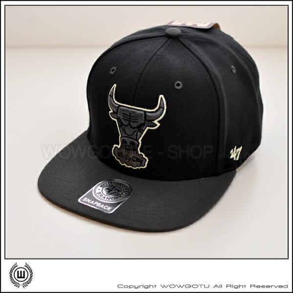 美國品牌 47 Brand - NBA 芝加哥公牛隊 復古之夜 SNAPBACK 帽款