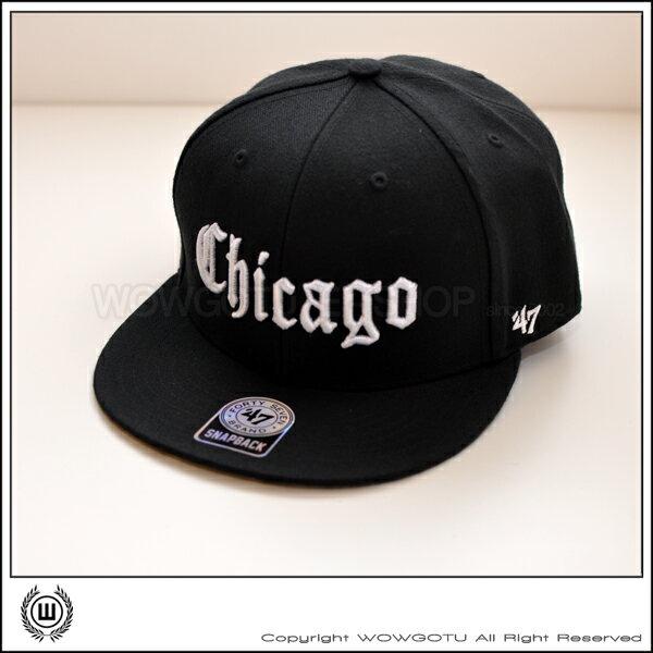 美國品牌 47 Brand - GOTHIC PAISLEY SNAPBACK 帽款 - Chicago