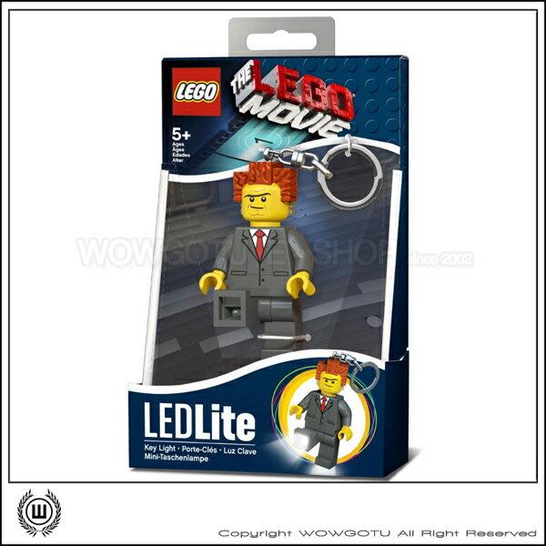 LEGO Movie LEDLITE President 鑰匙圈+LED 超好用推薦!