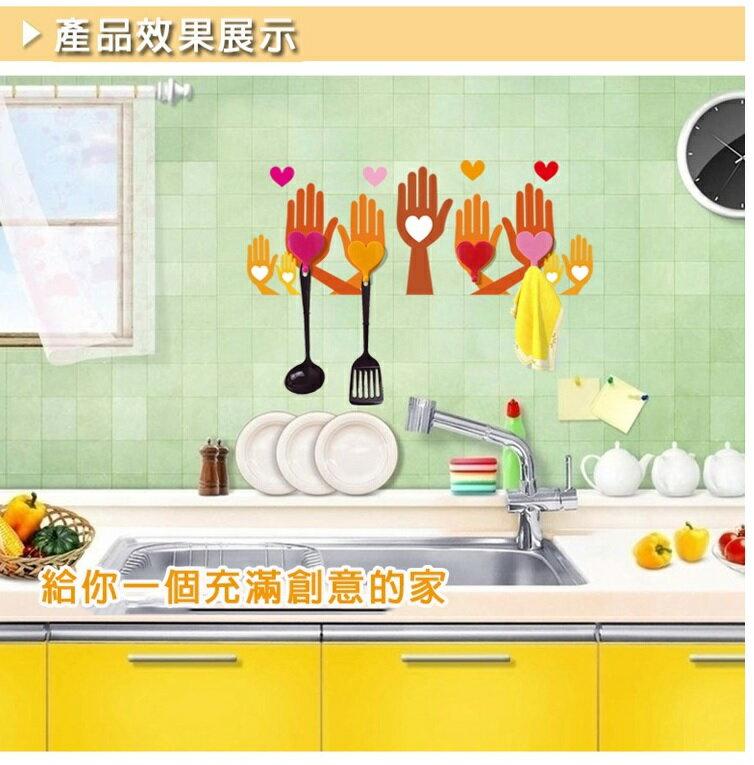 <特價出清>壁貼掛飾 活潑趣味收納小物 手掌掛勾-GG001 【AF07145】i-style 居家生活