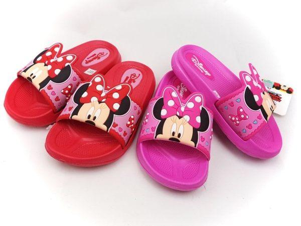 EMMA商城~ Disney迪士尼兒童輕量大蝴蝶結米妮防水拖鞋24~29號童鞋