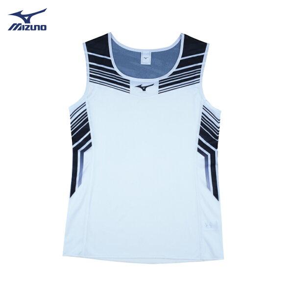 U2TA8C2201(白)超輕量柔軟高透氣吸汗快乾RUNNING女田徑背心【美津濃MIZUNO】