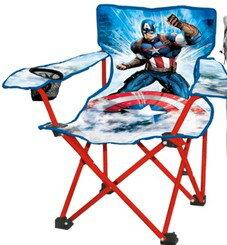 [COSCO代購如果沒搶到鄭重道歉] 兒童露營椅系列(小公主蘇菲亞/美國隊長) _W107229-B