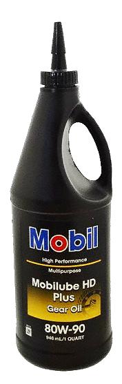 Mobil 1 HD Plus 80W90 汽/機車用變速箱油、齒輪油