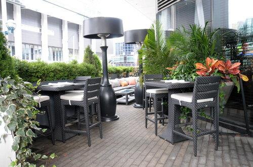 DORIC 多利克 方型吧檯桌 戶外家具【7OCEANS七海休閒傢俱】EXPRESSO 黑褐色 1