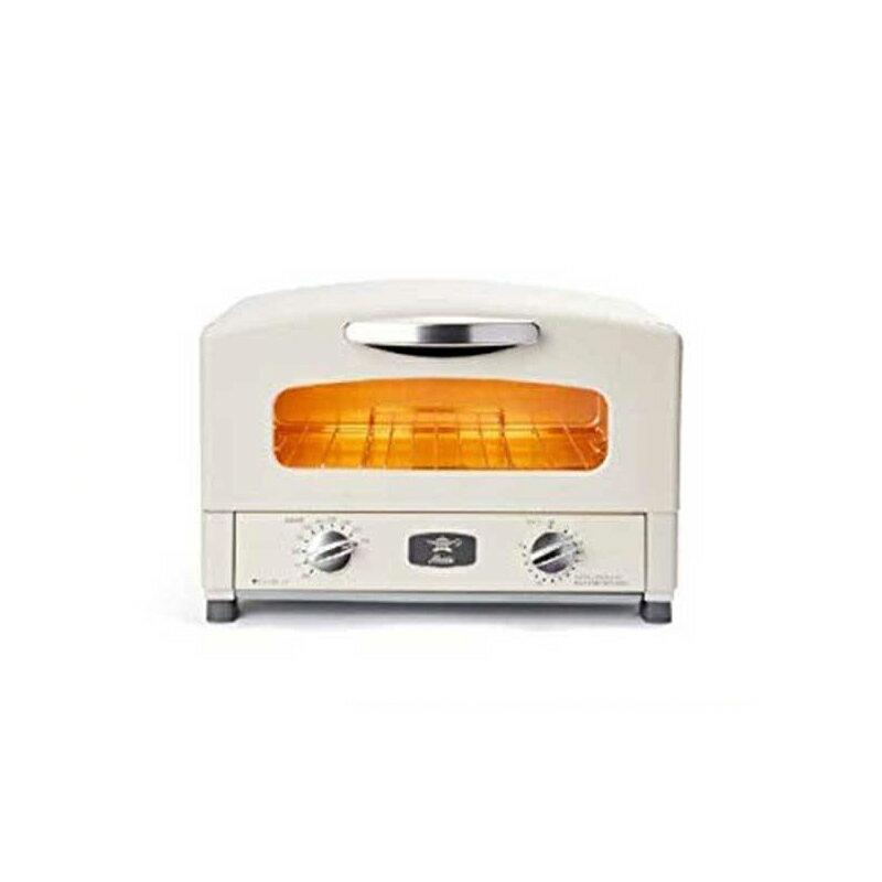 《日本Sengoku千石》千石阿拉丁二枚燒烤箱 附烤盤+烤網(白色) AET-GS13T