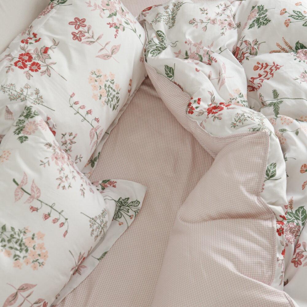 【預購】天絲 床包被套組(薄) 雙人【Poppy】萊賽爾纖維 透氣 翔仔居家│好窩生活節 5