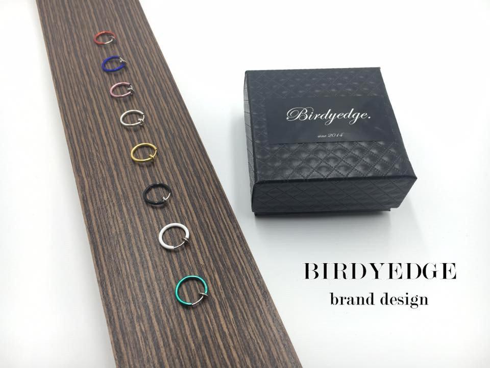 <br/><br/> 【Birdy Edge】 圓圈 圓環 鼻環 耳環 假體 耳環 無須耳洞 唇環 耳骨 環 買一送一<br/><br/>