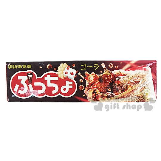 〔小禮堂〕日本原產 UHA味覺糖 噗啾可樂軟條糖《50g》