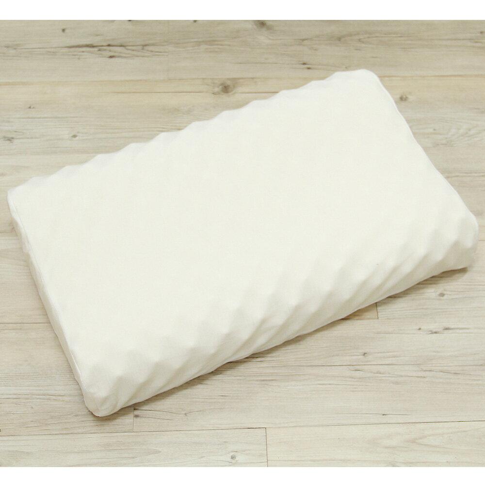 顆粒紓壓防螨天然乳膠枕-人體工學款
